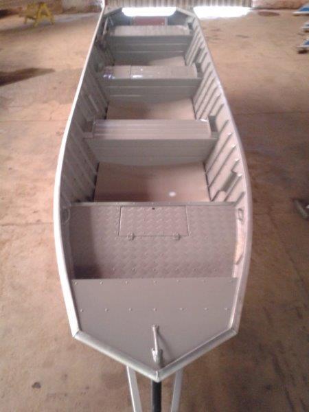 Barco de alumínio 6 metros preço