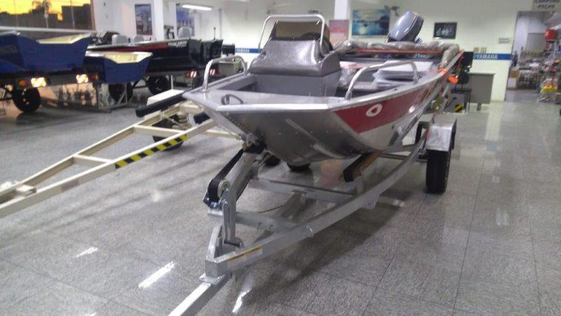 Barco de alumínio para lazer