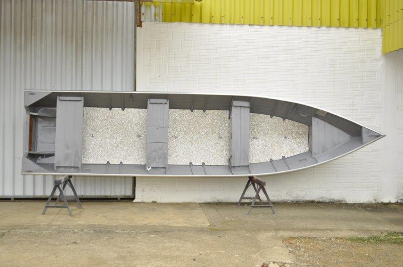 Barco de alumínio para pesca