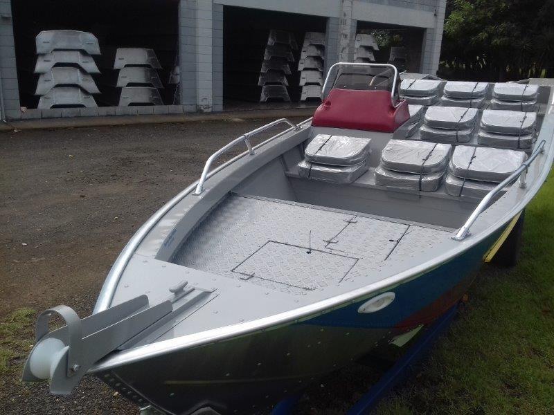 Barco de alumínio para turismo