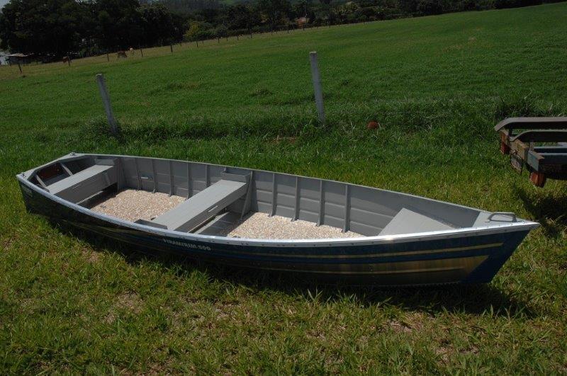 Canoa de alumínio à venda