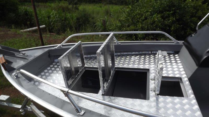 Fábrica de lanchas de alumínio