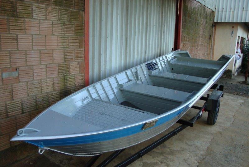 Fabricante de barcos de duralumínio