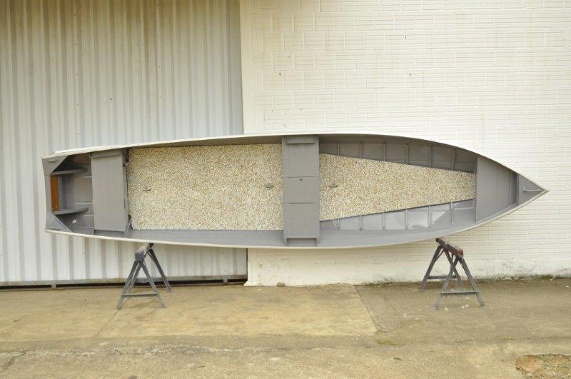 Fabricante de bote de alumínio